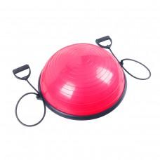 Балансировочная платформа полусфера Sport Shiny Bosu Ball 60 см SS6037-2 Pink
