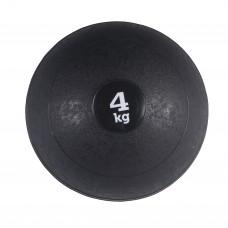 Медбол (медицинбол) для кроссфита SportVida Medicine Ball 4 кг SV-HK0058 Black