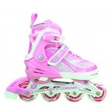 Роликовые коньки Nils Extreme NA1123A Size 31-34 Pink
