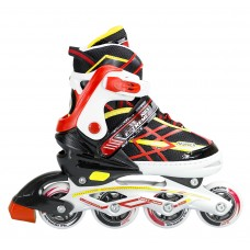 Роликовые коньки Nils Extreme NA1160A Size 39-42 Black/Red