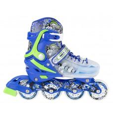 Роликовые коньки Nils Extreme NJ1812A Size 34-38 Blue