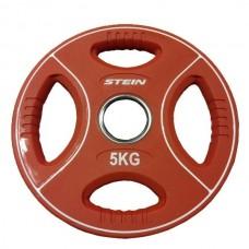 Профессиональные диски для штанг Stein TPU Color 3-Hole Plate DB6092-5