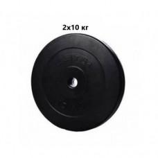 Сет из композитных дисков ELITUM D 20 кг d - 30 мм