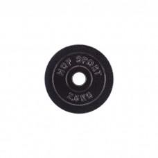 Блин для штанги металлический Hop-Sport 2,5кг