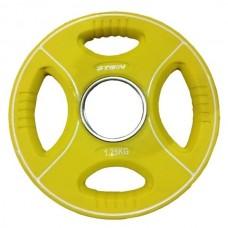 Профессиональные диски для штанг 1,25 кг d - 50 мм Stein TPU Color 3-Hole Plate DB6092-1.25