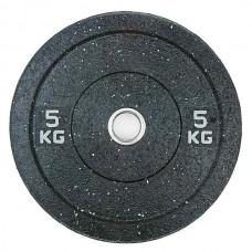 Бамперный диск для штанги 5 кг d - 50 мм Hi-Temp Stein DB6070-5