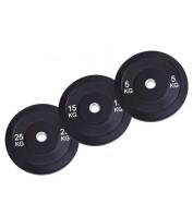 Бамперный диск для штанги Spart 25 кг d - 50 мм