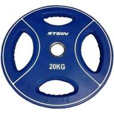 Профессиональные диски для штанг Stein TPU Color 3-Hole Plate DB6092-20