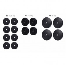 Набор TITAN из композитных дисков для штанги A - 40 кг d - 30 мм