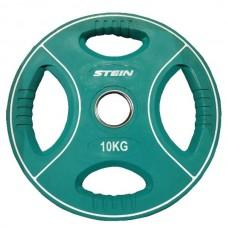 Профессиональные диски для штанг Stein TPU Color 3-Hole Plate DB6092-10