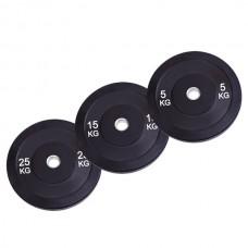 Бамперный диск для штанги 15 кг  d - 50 мм SPART (Rising) PL37-15R