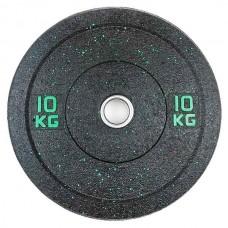 Бамперный диск для штанги 10 кг  d - 50 мм Hi-Temp Stein DB6070-10