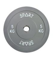 Бамперный диск для штанги 25 кг d - 50 мм SPART PL42-25