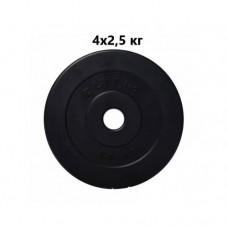 Сет из композитных дисков ELITUM B 10 кг d - 30 мм