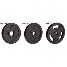 Сет из металлических дисков Elitum Strong 20 кг d - 30 мм