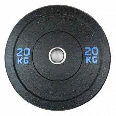 Бамперный диск для штанги 20 кг d - 50 мм Hi-Temp Stein DB6070-20