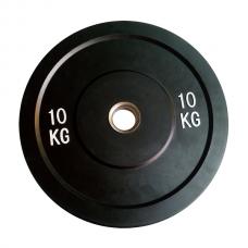 Бамперный диск для штанги Rising Bamper Plate 10 кг d - 50 мм PL37-10