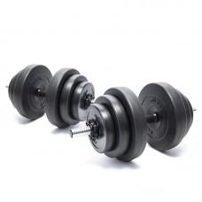 Гантели композитные Elitum 2 х 18 кг
