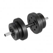 Гантеля композитная Hop-Sport 10 кг PRO