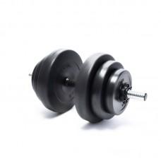 Гантель композитная Elitum 18 кг
