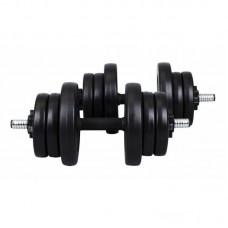 Гантели композитные Hop-Sport 2 х 11 кг