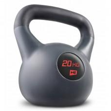 Гиря виниловая 20 кг Hop-Sport HS-P020KB