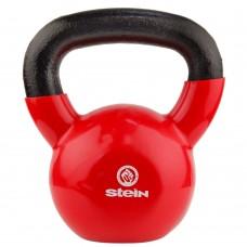 Гиря спортивная металлическая виниловая Stein 12 кг