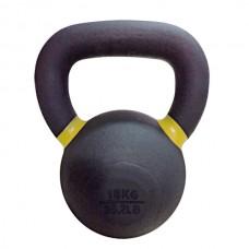 Чугунная гиря 16 кг Rising Premium Kettelebell