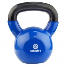 Гиря спортивная металлическая виниловая Stein 16 кг