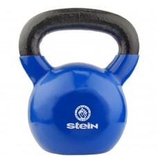 Гиря спортивная металлическая виниловая Stein 24 кг