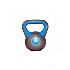 Гиря пластиковая насыпная 3 кг LiveUp LS2047-3