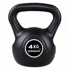 Гиря спортивная (тренировочная) Springos 4 кг FA1001