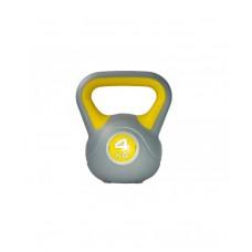 Гиря пластиковая насыпная 4 кг LiveUp LS2047-4