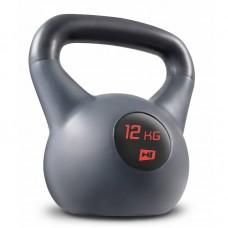 Гиря виниловая 12 кг Hop-Sport HS-P012KB