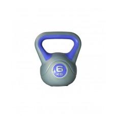 Гиря пластиковая насыпная 6 кг LiveUp LS2047-6