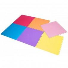 Напольное покрытие мат-пазл (ласточкин хвост) Springos Mat Puzzle EVA 180 x 120 x 1 cм PM0002