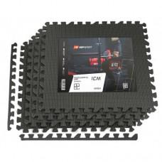 Мат-пазл Hop-Sport EVA 1cm HS-A009PM - 4 части черный