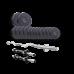 Набор Elitum TITAN штанга и гантели с блинами 38 кг с W- или Z-образным грифом
