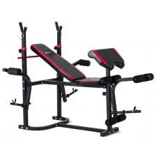 Набор Strong 133 кг со скамьей HS-1020 + тяга