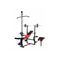 Скамья для жима Hop-Sport HS-1070 + верхняя тяга