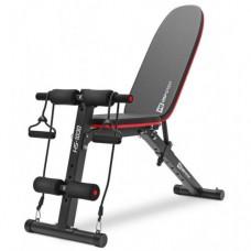 Скамья тренировочная наклонная регулируемая Hop-Sport HS-1030 с фиксатором для ног