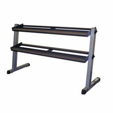 Горизонтальная стойка для гексогональних гантелей Body-Solid GDR-60