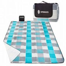 Коврик для пляжа, пикника и кемпинга складной Springos 200 x 200 см PM002