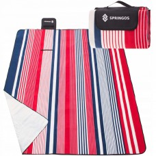 Коврик для пляжа, пикника и кемпинга складной Springos 200 x 200 см PM017