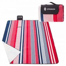 Коврик для пикника и кемпинга складной Springos 200 x 160 см PM006
