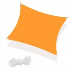 Тент-парус теневой для дома, сада и туризма Springos 4 x 4 м SN1027 Orange