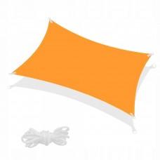 Тент-парус теневой для дома, сада и туризма Springos 4 x 2 м SN1039 Orange