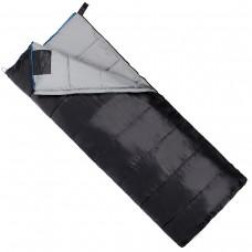 Спальный мешок (спальник) одеяло SportVida SV-CC0069 -3 ...+ 21°C L Black/Grey