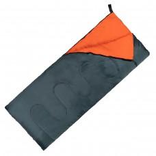 Спальный мешок (спальник) одеяло SportVida SV-CC0061 +2 ...+ 21°C R Navy Green/Orange