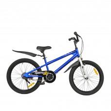 """Детский велосипед двухколесный RoyalBaby FREESTYLE 20"""" 125-160 см OFFICIAL UA синий"""